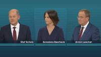 Телевизионен сблъсък: Дебат на кандидатите за канцлер на Германия