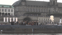 Симфоничният оркестър на Дрезден свири заедно с параходи