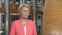 Специално за БНТ: Урсула фон дер Лайен към българите - Ваксинирайте се