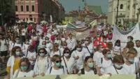 Здравни работници протестираха в Полша