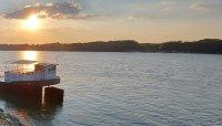 Затруднено е корабоплаването заради ниски нива на Дунав при Белене