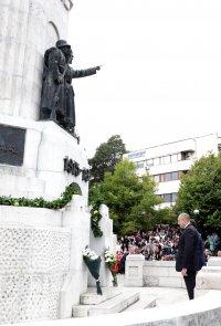 снимка 1 Радев: Вярата на нашия народ в неговите собствени сили ни е нужна и днес (СНИМКИ)