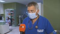 Пълно е COVID отделението в една от софийските болници. Само един от пациентите е ваксиниран