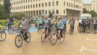 Велопоход в София на Световния ден без автомобили