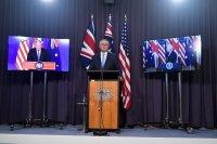 Остри реакции заради пакт за сигурност между САЩ, Великобритания и Австралия