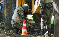 снимка 2 Откриха невзривен снаряд в района на НДК (СНИМКИ)