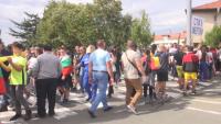 Втори ден на протести в Айтос след тежката катастрофа