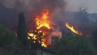 Повече от сто къщи са погълнати от лавата след изригването на вулкана в Ла Палма