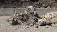 Скали се срутиха и затвориха пътя между Кричим и Девин