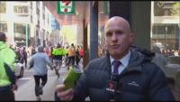 Нападнаха журналист в Австралия по време на протест против ковид мерките