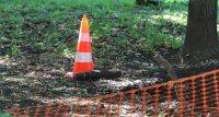 снимка 3 Откриха невзривен снаряд в района на НДК (СНИМКИ)