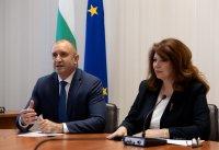 Инициативен комитет издига Радев - Йотова като независими кандидати за президент и вицепрезидент