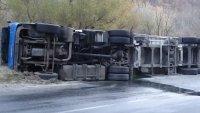 Пиян шофьор на ТИР предизвика катастрофа в Айтос