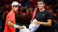 Андреев и Лазаров отпаднаха на двойки от Sofia Open