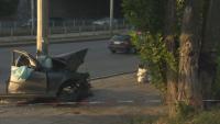 Двама души са с опасност за живота след катастрофа до гара Подуяне в София