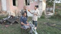 Жителите на Горско ново село събират пари за младо семейство, останало без дом след пожар