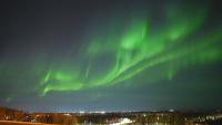 Небесен спектакъл над Аляска