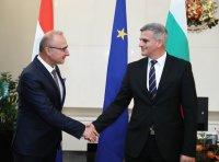 Стефан Янев се срещна с хърватския външен министър