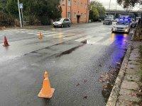 Блъснаха жена и дете на пешеходна пътека в Бургас