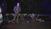 Задържаха над 20 нелегални мигранти край Мъглиж