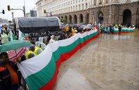 Пътни строители блокираха центъра на София