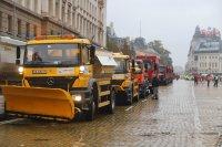 Пътни строители блокираха отново центъра на София с искане за заплати и оставка на министъра