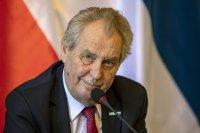 Чешкият президент Милош Земан остава в интензивно отделение