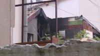 Пожар пламна в къща в центъра на Варна