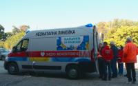 """Първата линейка, осигурена от """"Капачки за бъдеще"""", пристигна в Пловдив"""