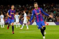 Барселона записа първа победа в Шампионската лига
