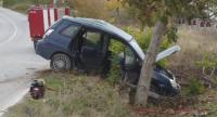 Мъж загина в тежка катастрофа между кола и автобус във Варненско