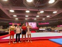 Димитър Димитров е трети на прескок след първите квалификации на Световното в Япония