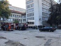 Силно задимяване в ковид отделението на Пета градска в София