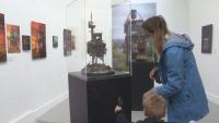 Творци представят умалени модели на сгради в Париж
