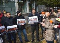 Туроператорите излязоха на протест (СНИМКИ)
