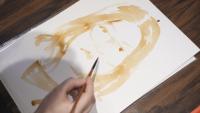 Арт терапия: Портрети от кафе срещу депресията