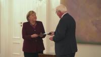 Ангела Меркел стана служебен канцлер на Германия