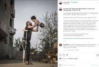 Снимката на годината: Живот без крайници за сирийски баща и неговия син