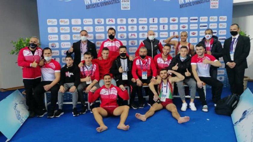българия европа спортна гимнастика