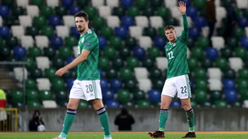 северна ирландия загуби контрола мача българия