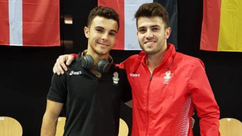 четирима участват българия европейското гимнастика