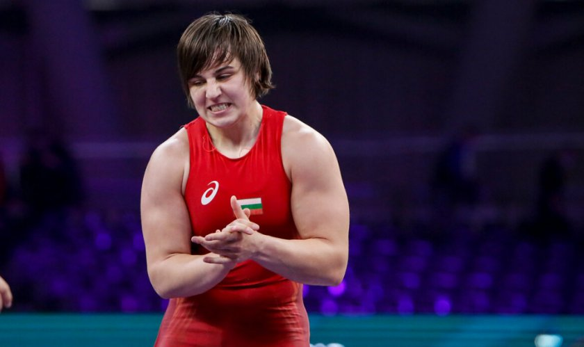 юлияна янева финалистка европейското борба