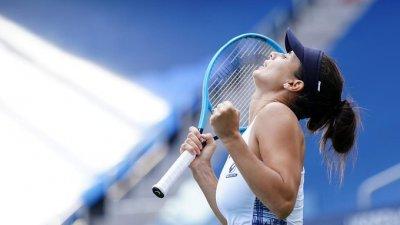 """Пиронкова стана 156-а в света след представянето си на """"US Open"""""""