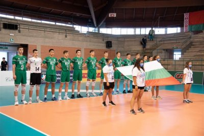 България U18 завърши четвърта на Евроволей 2020 в Италия