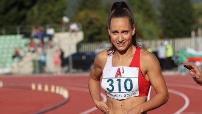 Инна Ефтимова със сребро на 100 м. спринт на Балканиадата в Клуж