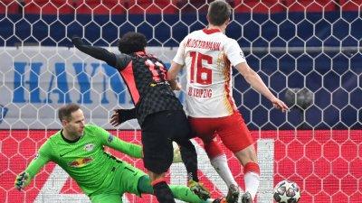 Ливърпул взе добър аванс срещу РБ Лайпциг след груби грешки в немската отбрана