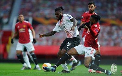 Милан изравни на Юнайтед в добавеното време и остави реванша отворен