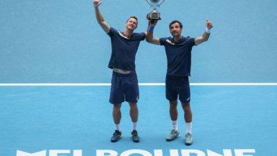 Додиг/Полашек са новите шампиони на Australian Open в мъжките двойки
