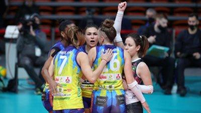 Волейболните Марица и ЦСКА с победи при жените