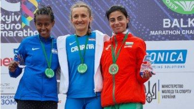 Маринела Нинева влезе в топ 10 във вечната ранглиста на България в маратона